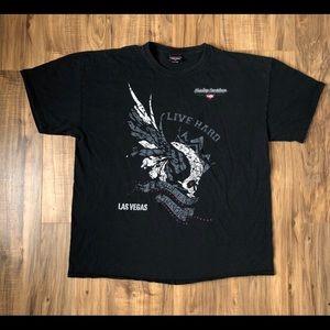 Harley Davidson Cafe Las Vegas 1997 Shirt 2XL